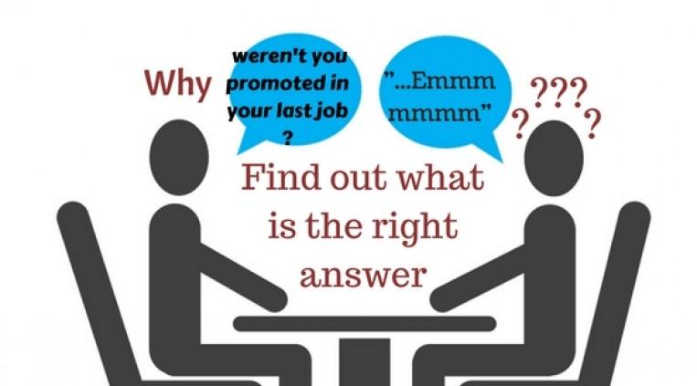 job promotion interview answers etika
